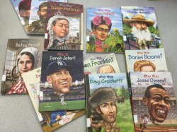 Fourth grade students at WRS have read more than 200 biographies since December 2015!